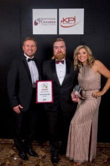 Proud sponsor of the Young Business Person of the Year Award 2016.